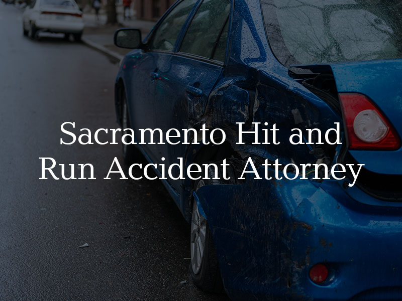 Hit and run accident in Sacramento
